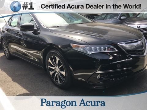 Certified Pre-Owned 2015 Acura TLX 2.4 8-DCT P-AWS with Technology Package FWD 4D Sedan
