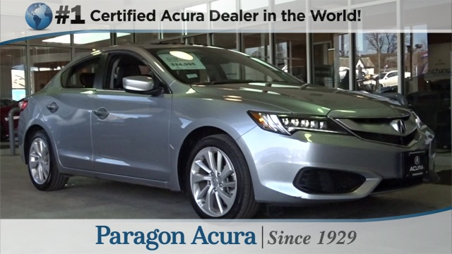 Certified Pre-Owned 2017 Acura ILX Base FWD 4D Sedan